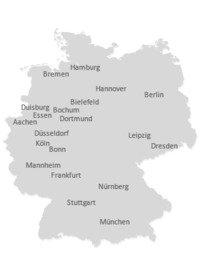 Gas ist in 13 Bundesländern Heiztechnologie Nr. 1