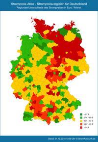 Stromvergleich Studie - Strompreise für Haushalte